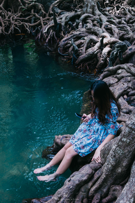 ท่าปอม คลองสองน้ำ ที่เที่ยวกระบี่สุดชิล นครศรีดีย์
