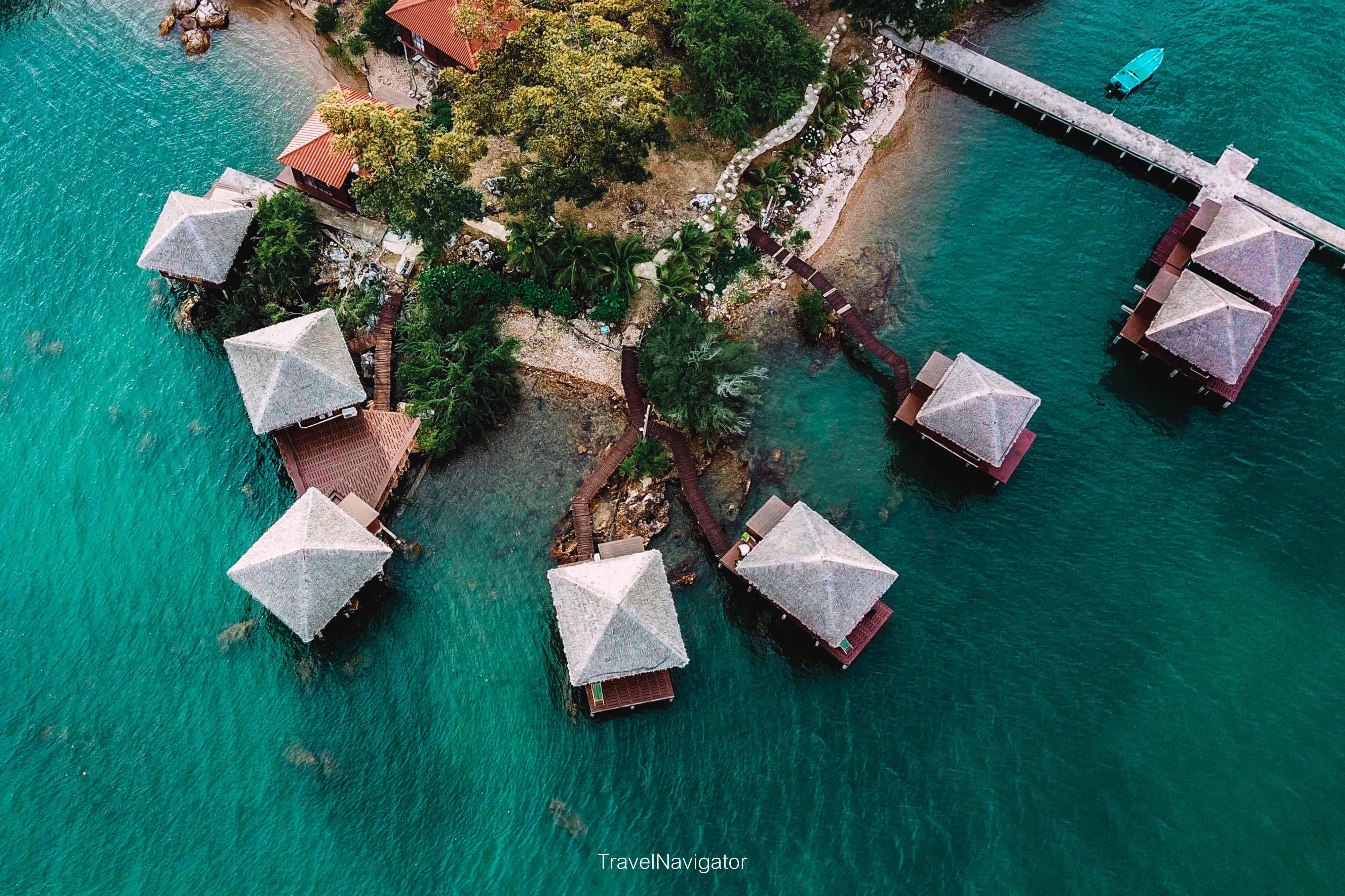 เกาะจิก จันทบุรี ที่พักกลางน้ำสุดชิล นครศรีดีย์