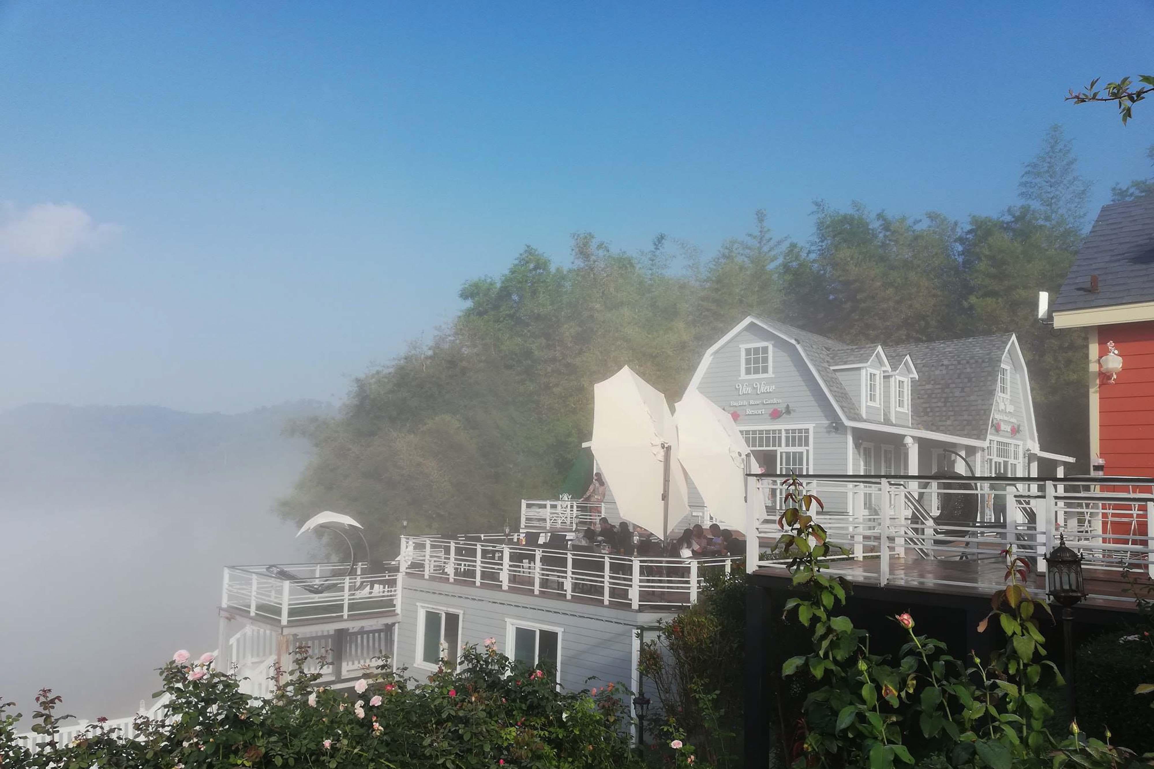 สะพานชมสายหมอก ณ Vin View เขาค้อ นครศรีดีย์