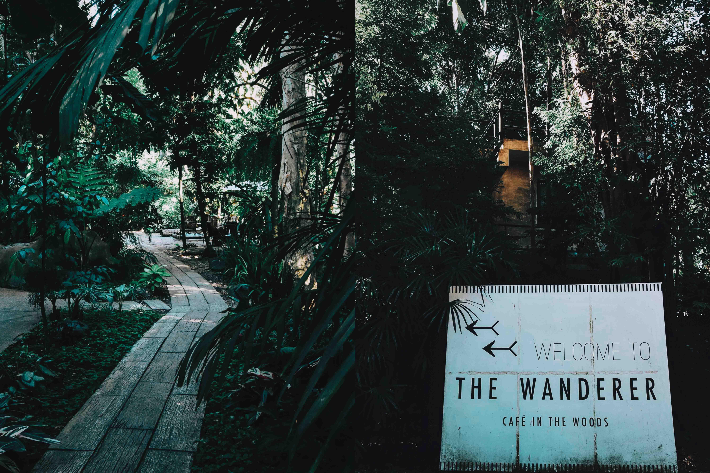 THE WANDERER คาเฟ่ลับกลางป่า นครศรีดีย์