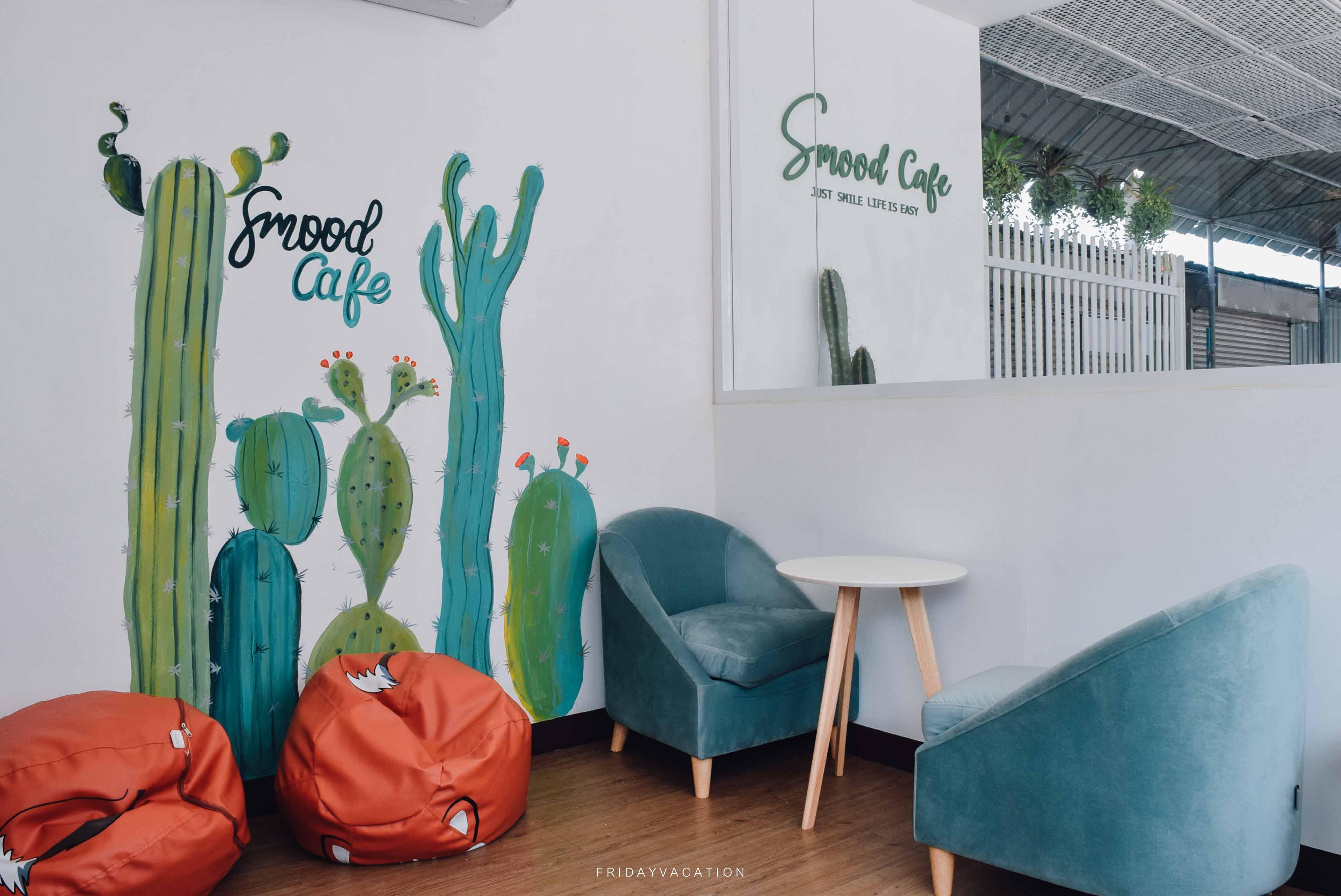 Smood cafe Phuket คาเฟ่น่ารักบรรยากาศคูลๆ นครศรีดีย์