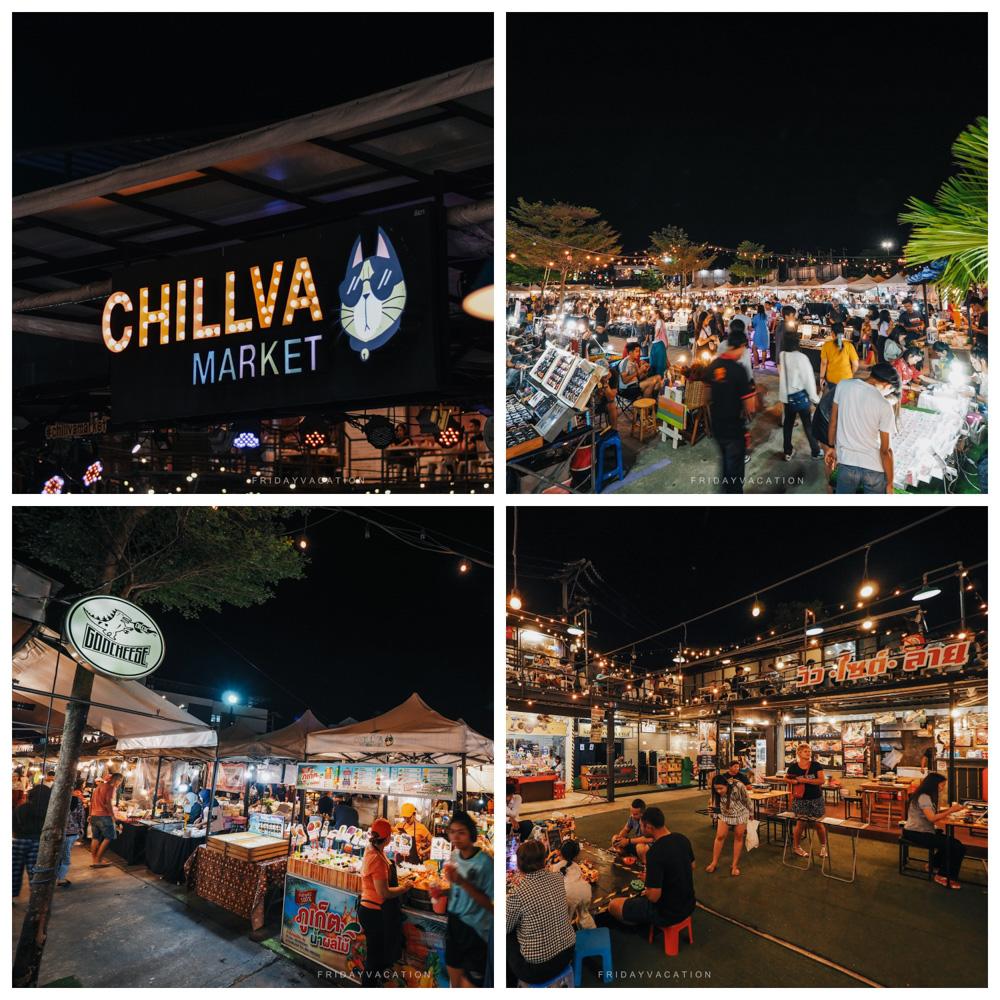 สุดชิลล์ที่ CHILLVA ตลาดนัดน่าเดินแห่งเกาะภูเก็ต นครศรีดีย์